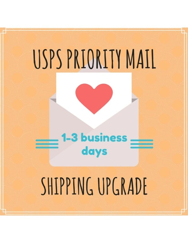 USPS Priority Shipping Upgrade by TheCrochetNest on Etsy