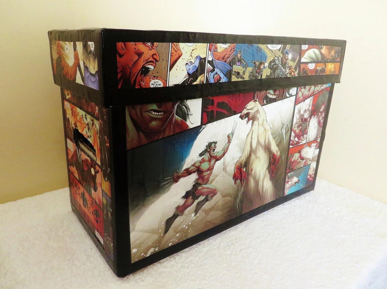 Comic Book Storage Box Made To Order