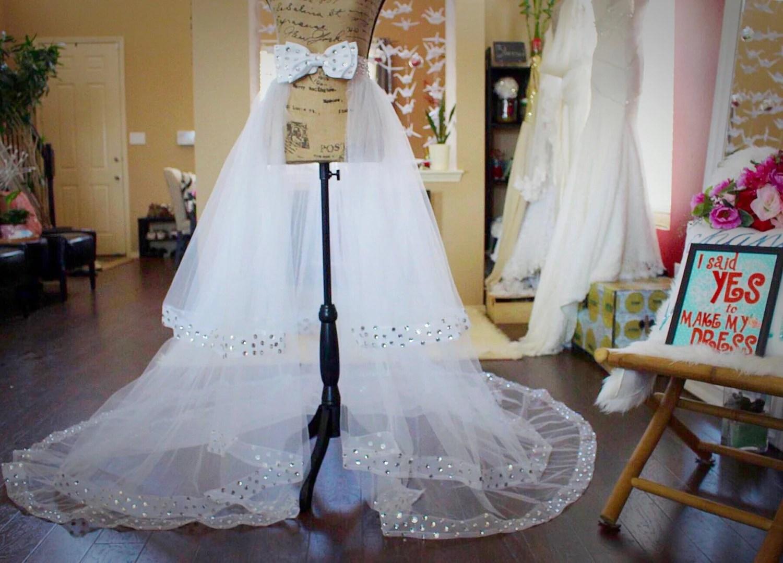 Lace Detachable Train / Lace Bridal Skirt / Tulle Bridal Skirt