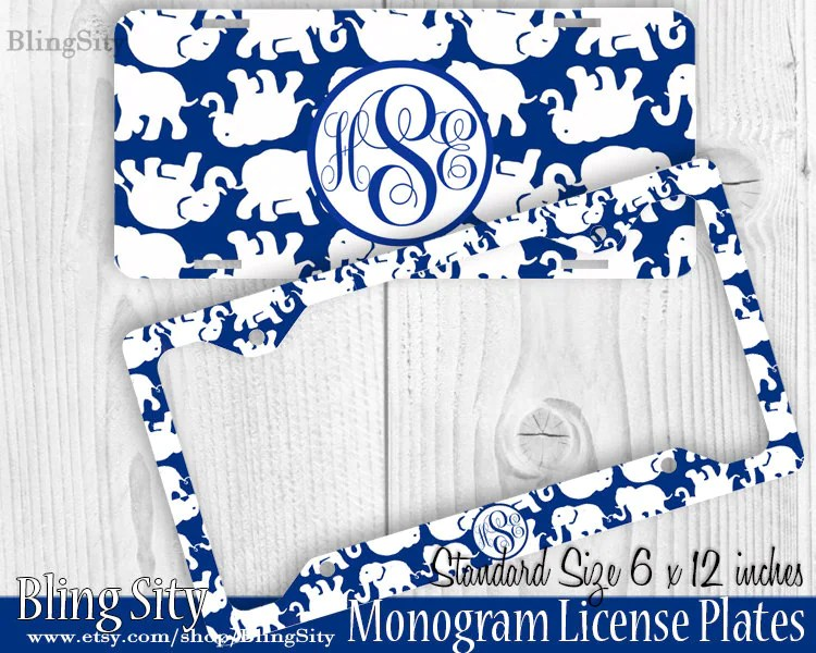 Lilly Pulitzer License Plate Car