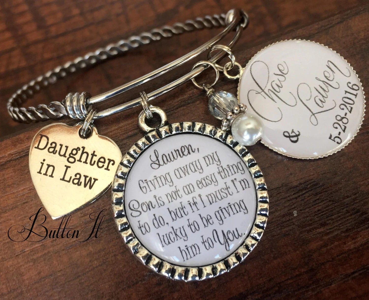 Daughter In Law Gift BANGLE Bracelet Future Daughter In Law