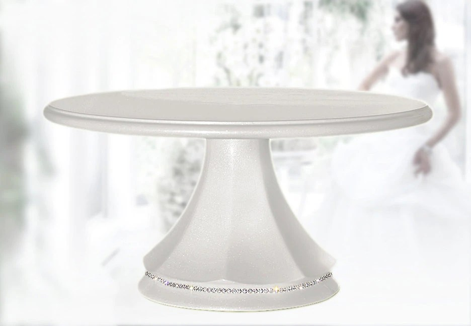 Crystals Tall Cake Stand