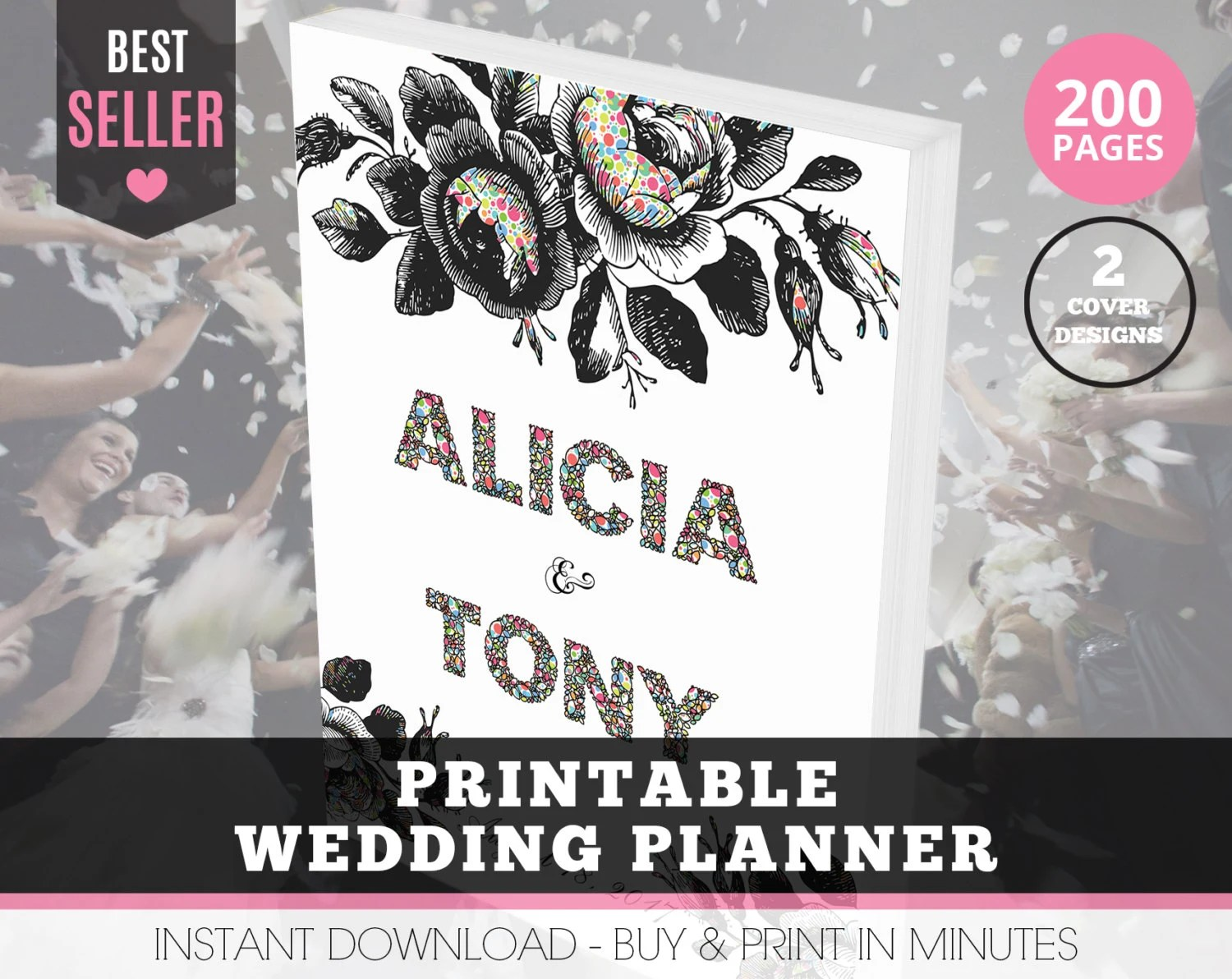 Wedding Organizer Printable Wedding Planner By