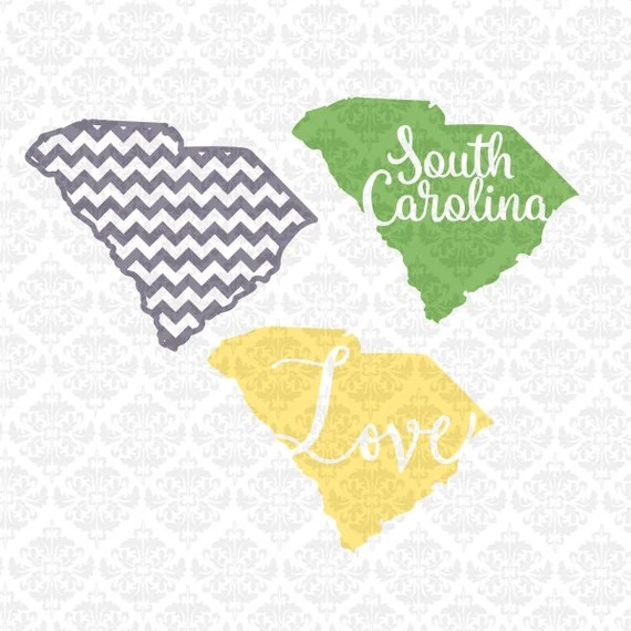 Download South Carolina chevron outline love Home Monogram SVG STUDIO