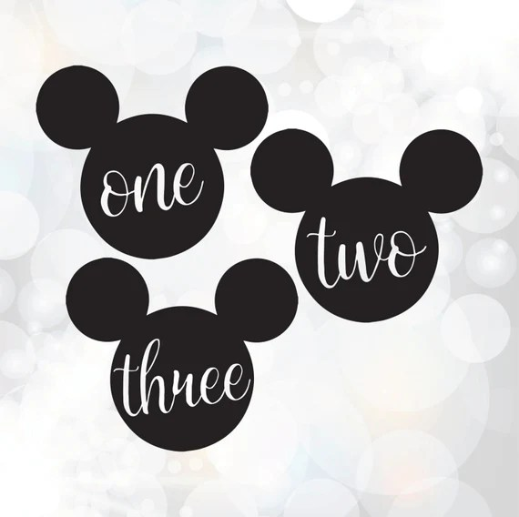 Download Birthday SVG cut files Mickey Mouse svg 1st 2nd 3rd