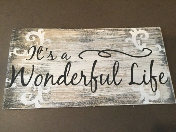 Labled It Wonderful S George Life Bailey