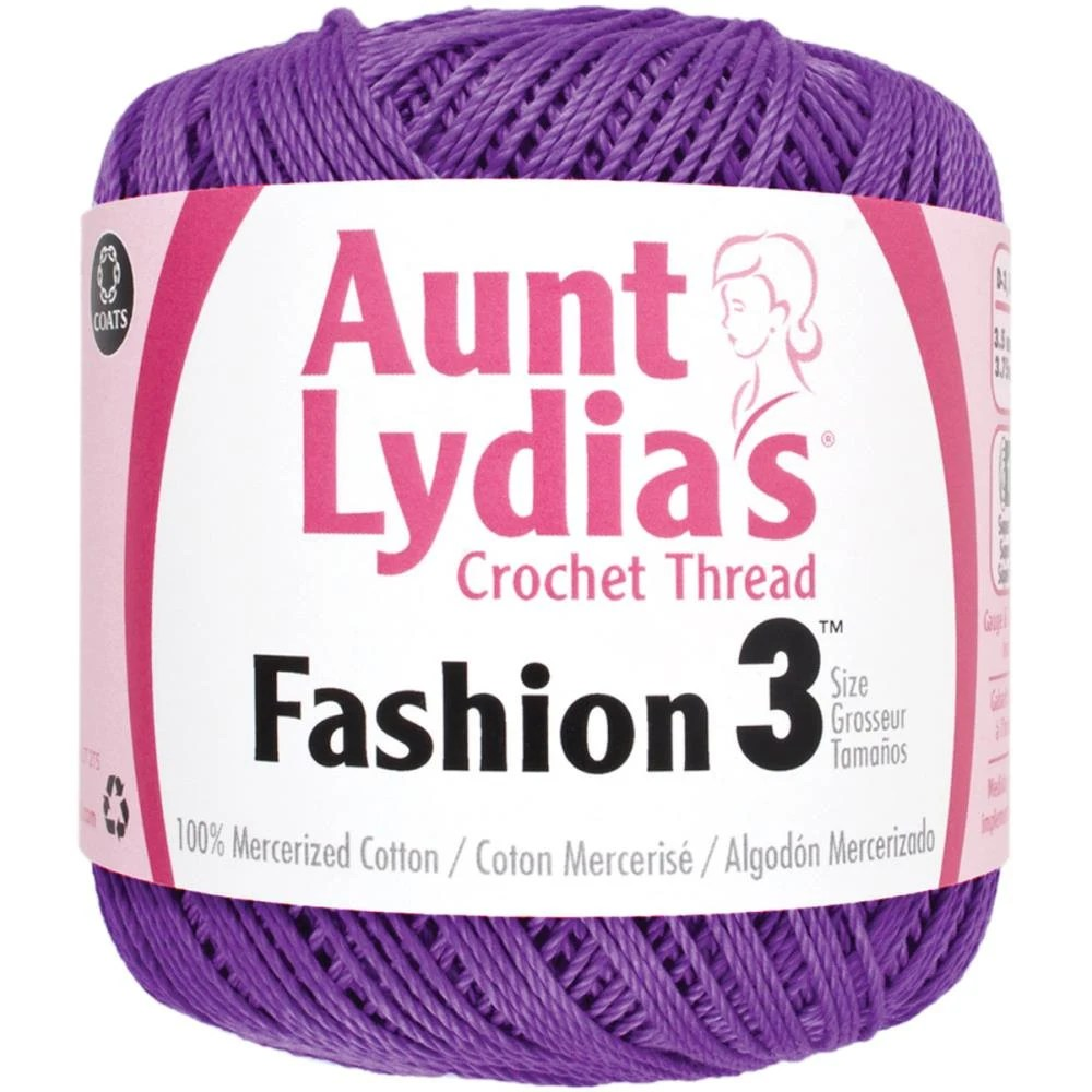 Maroon Crochet Thread Size 3