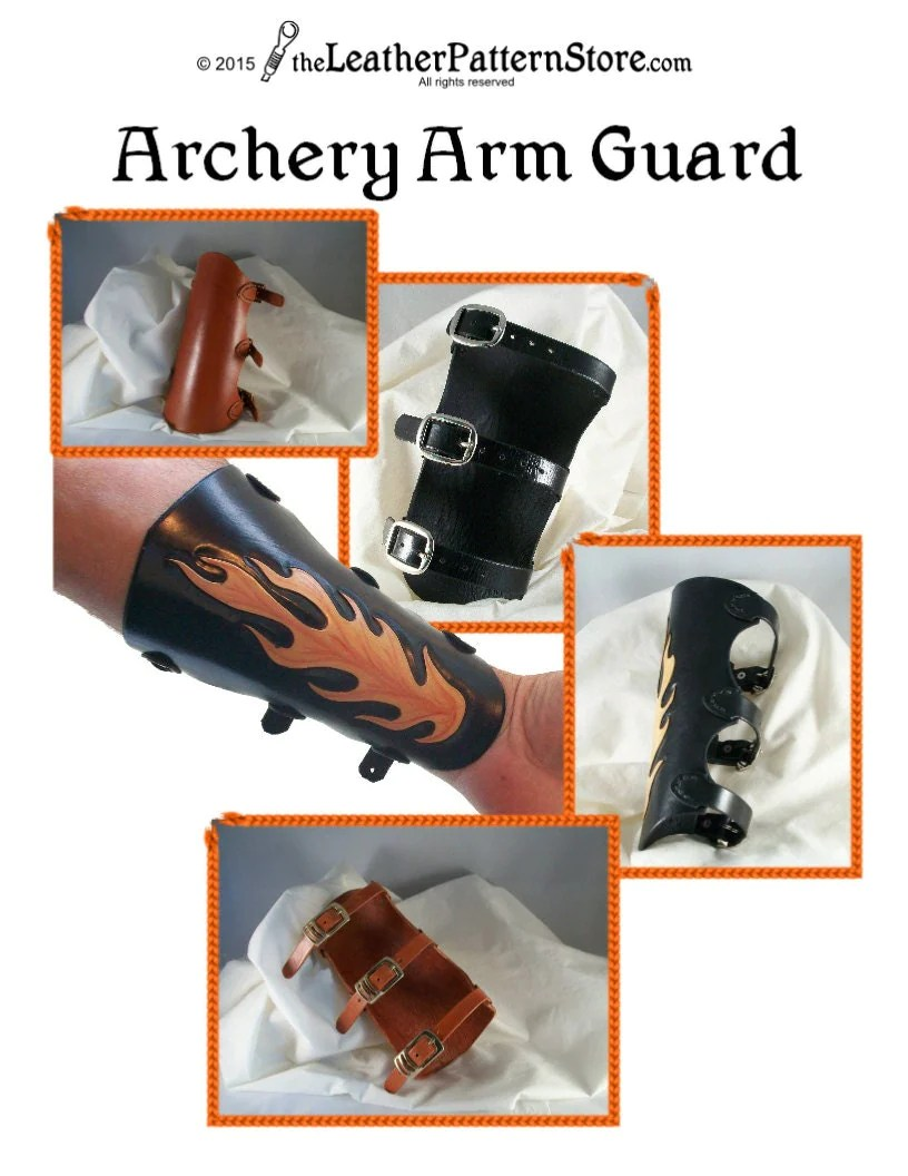 Leather Arm Guards Patterns