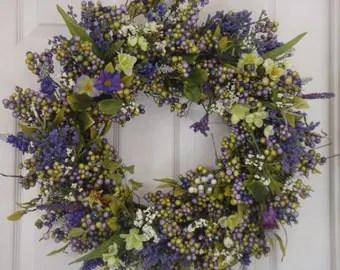 Easter Wreath Etsy
