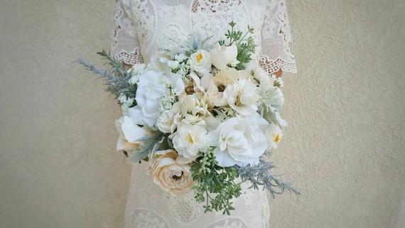 Items Similar To Wedding Bouquet, Bridal Bouquet, Silk