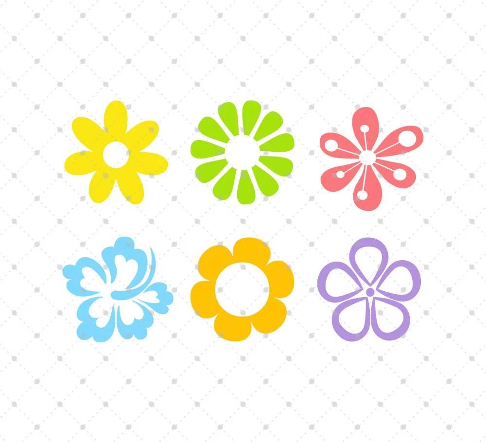 Download Flower SVG Cut Files, Spring Flowers SVG Cut Files, for ...
