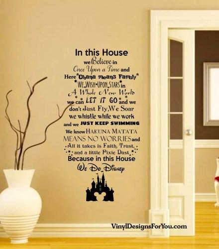Disney Wall Decals - Home Design Ideas - niny.info