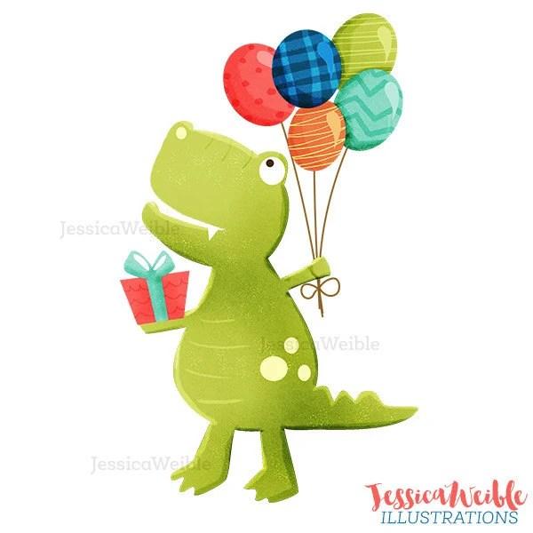 dinosaur balloon template