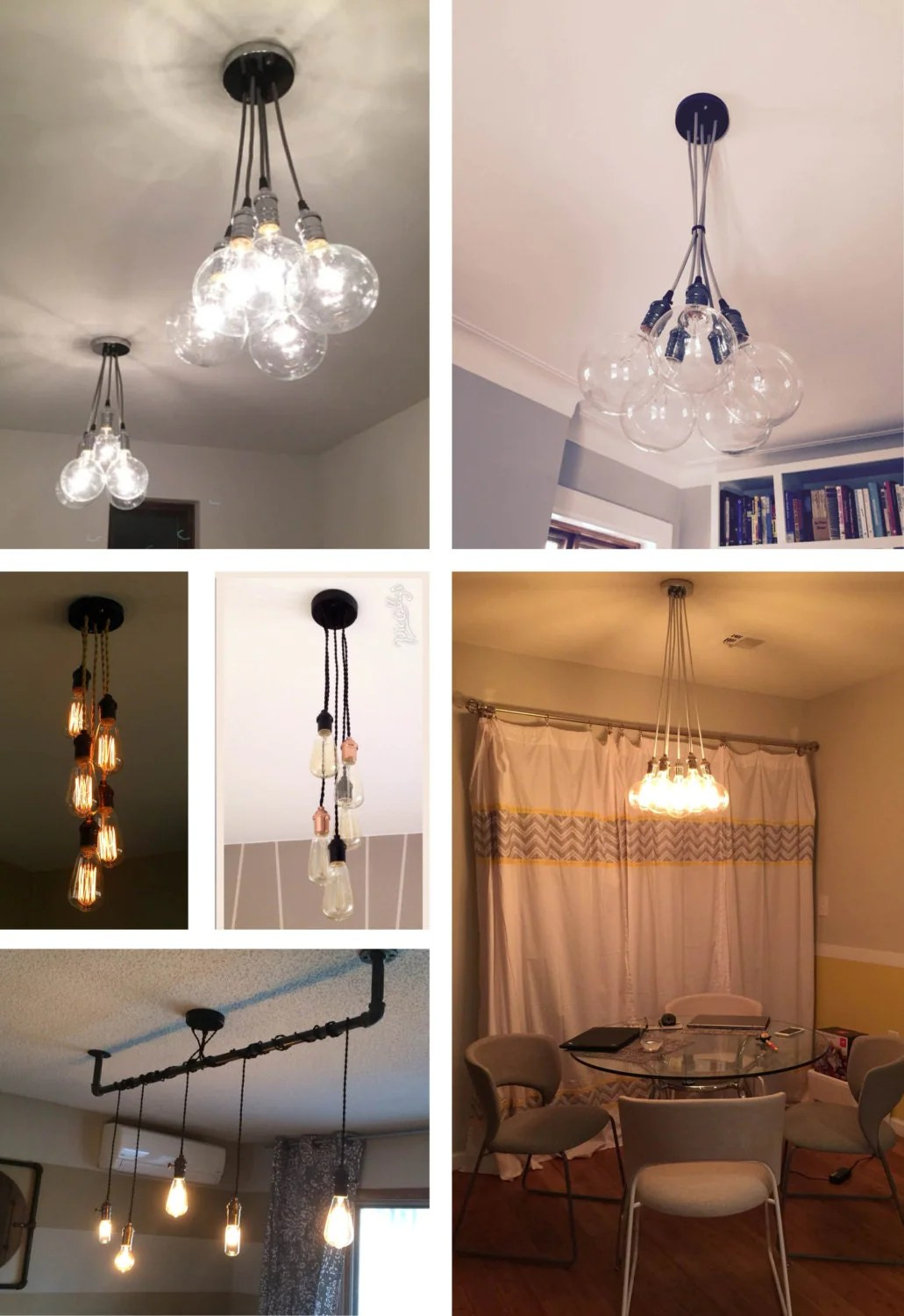 Ceiling Plate Pendant Light