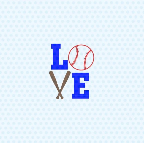 Download Love Baseball Svg Baseball Svg Love Softball Svg Baseball