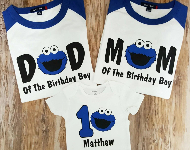 Cookie Monster 2nd Birthday Shirt