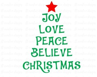 Download Joy love peace | Etsy