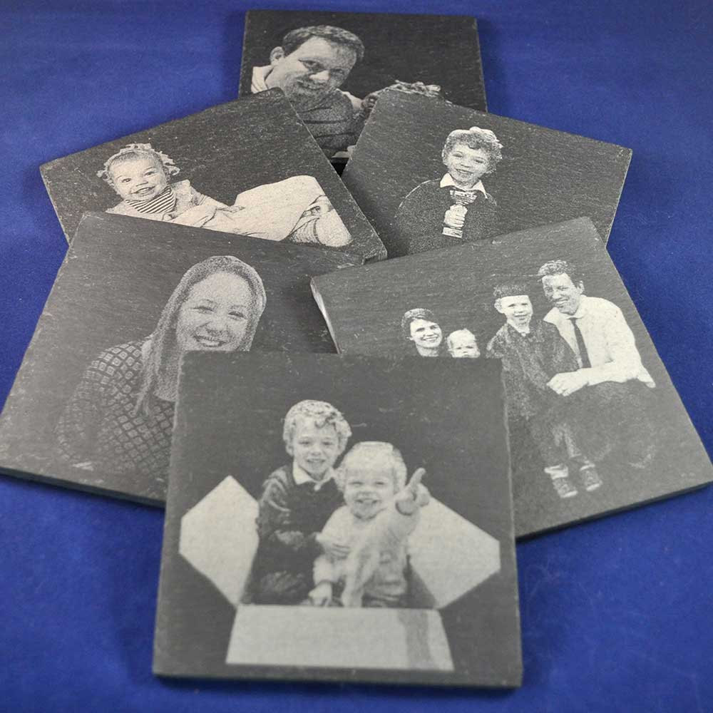 Photo Engraved Slate Coas...