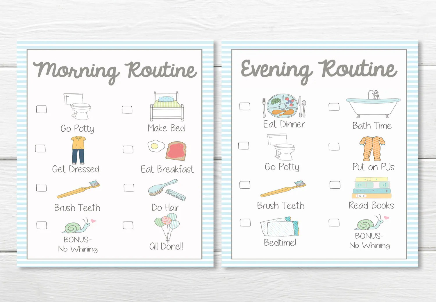 Printables Daily Young Child Toddler Boys Chore Chart