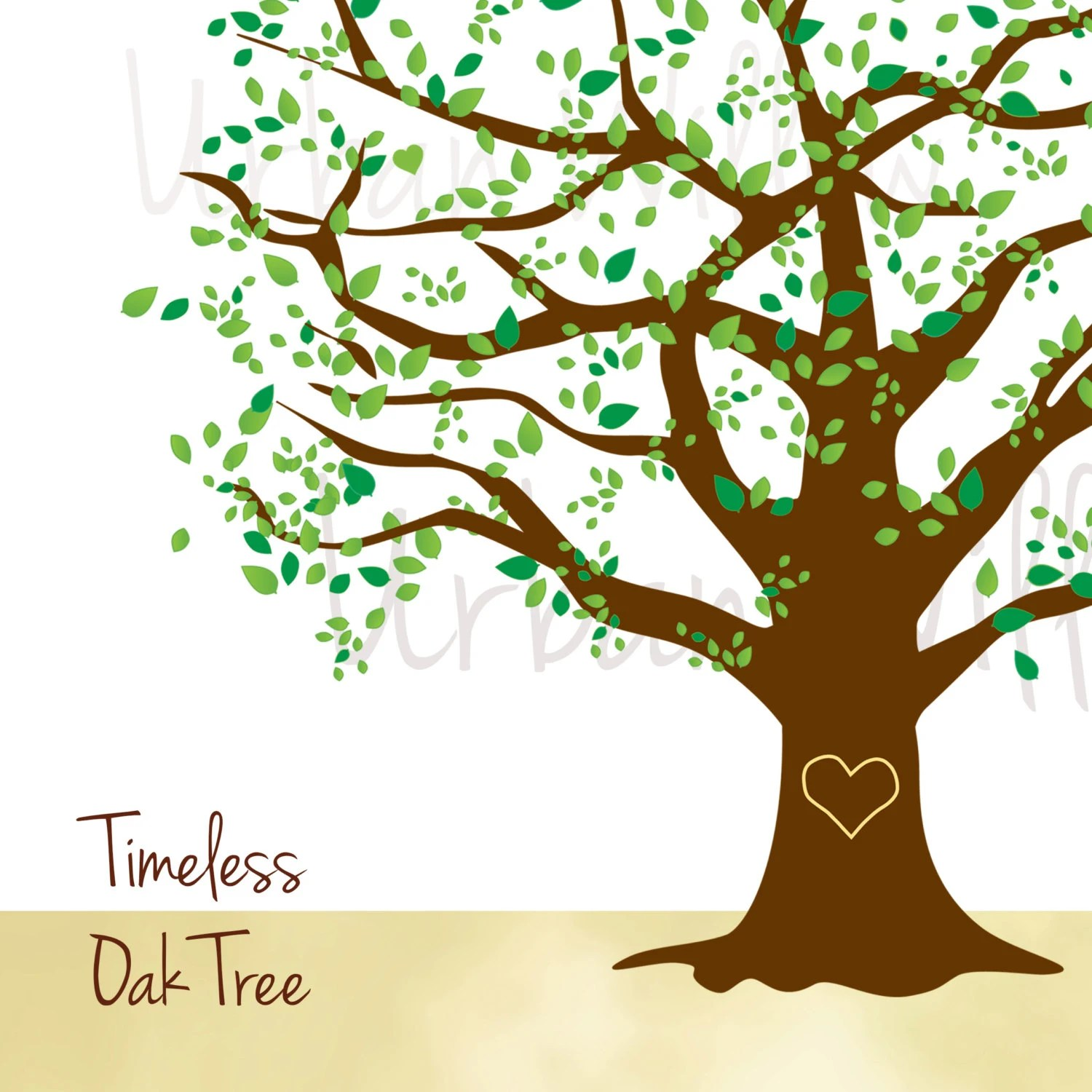 Clip Art Oak Tree Beautiful Tree Graphic Natural Tree
