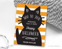 personalized halloween labels