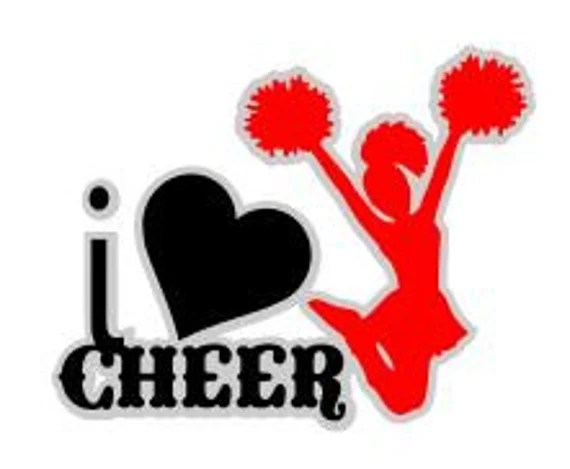 Download I Love Cheer SVG Studio 3 DXF PS Ai and Pdf Cutting Files