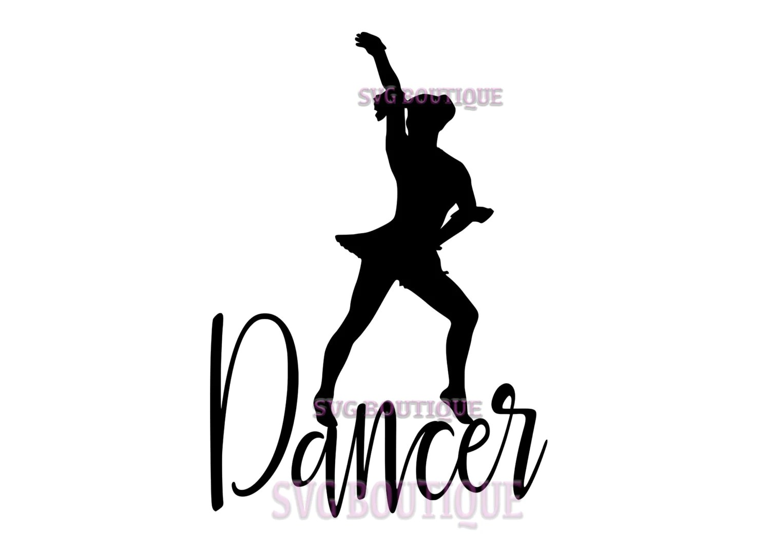 Dancer Svg File Cut File Dancer Quote Cricut Dance