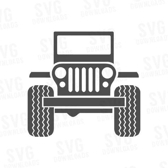 Download Jeep SVG Digital Cutting and Printing Files by SVGDownloads