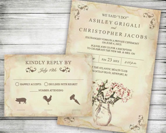 Different Wedding Invitation Wording