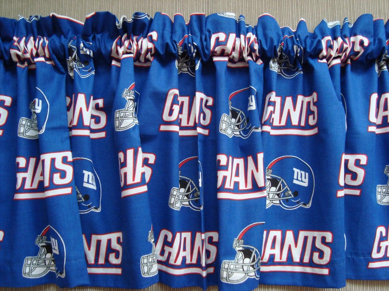 New York Giants Football Sports Handmade Curtain Valance
