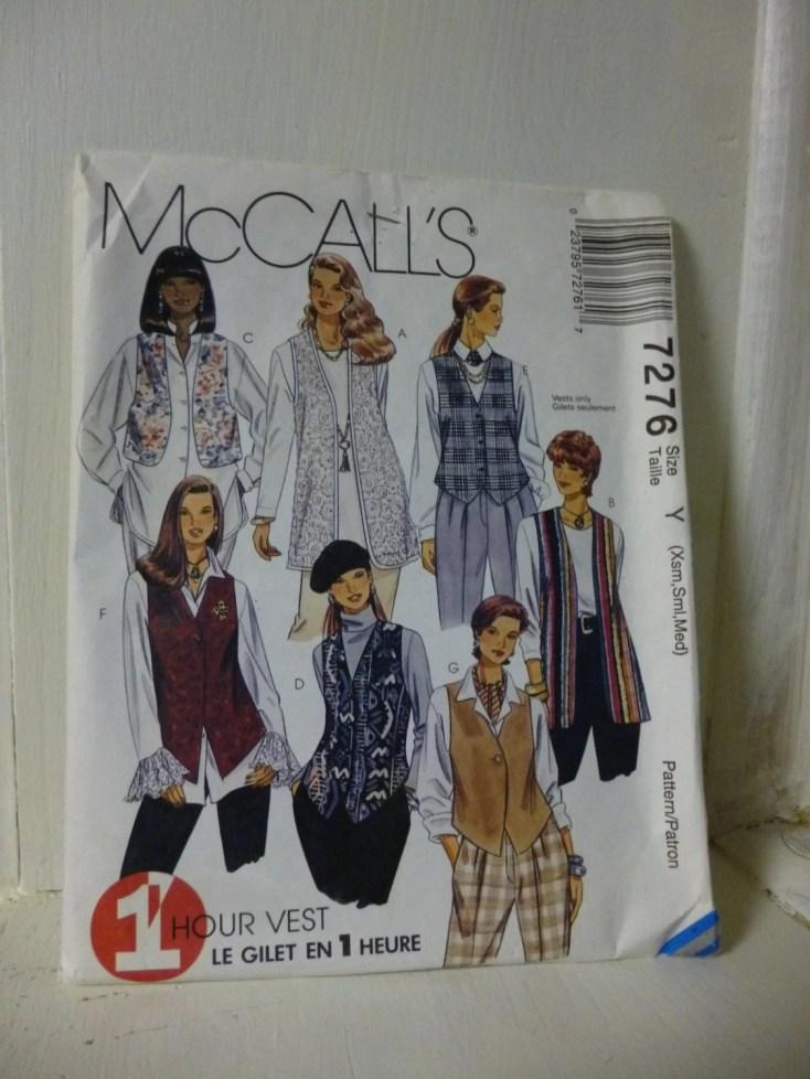 McCalls 7276 Misses Unlin...