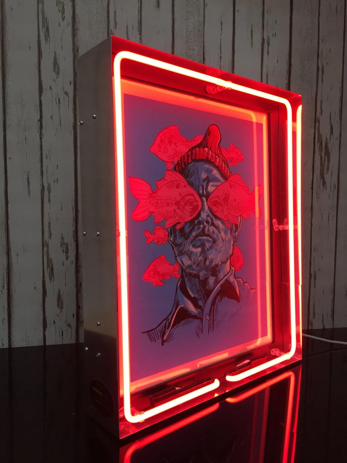 Neon Light Picture Frame