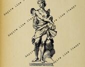 Icarus Greek Statue - Dig...