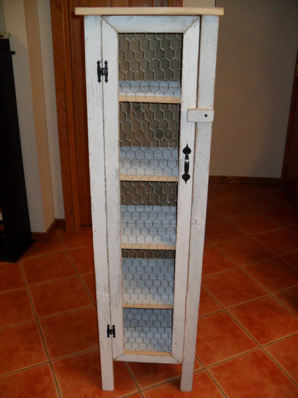 Shabby Chic Cabinet Display