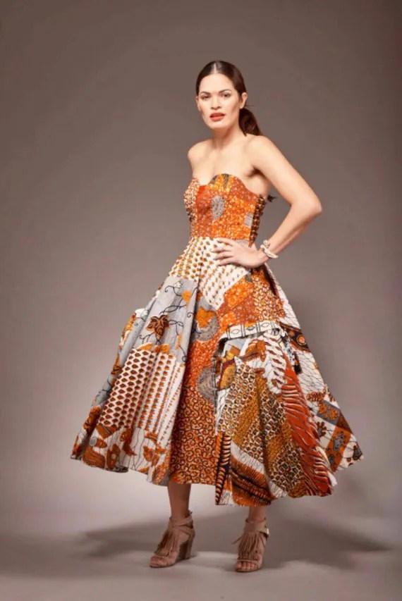African Print Dress Ankara Dress Party Dress African by ...