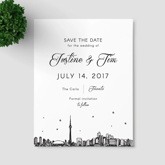 Save Date Cards Toronto