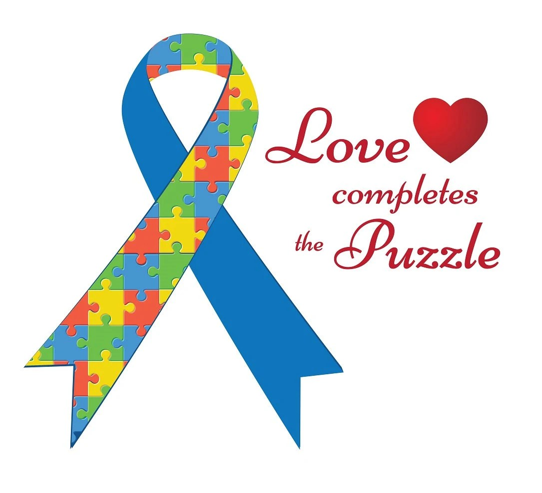 Download SVG Love Completes The Puzzle Autism Awareness Heart Cuttable