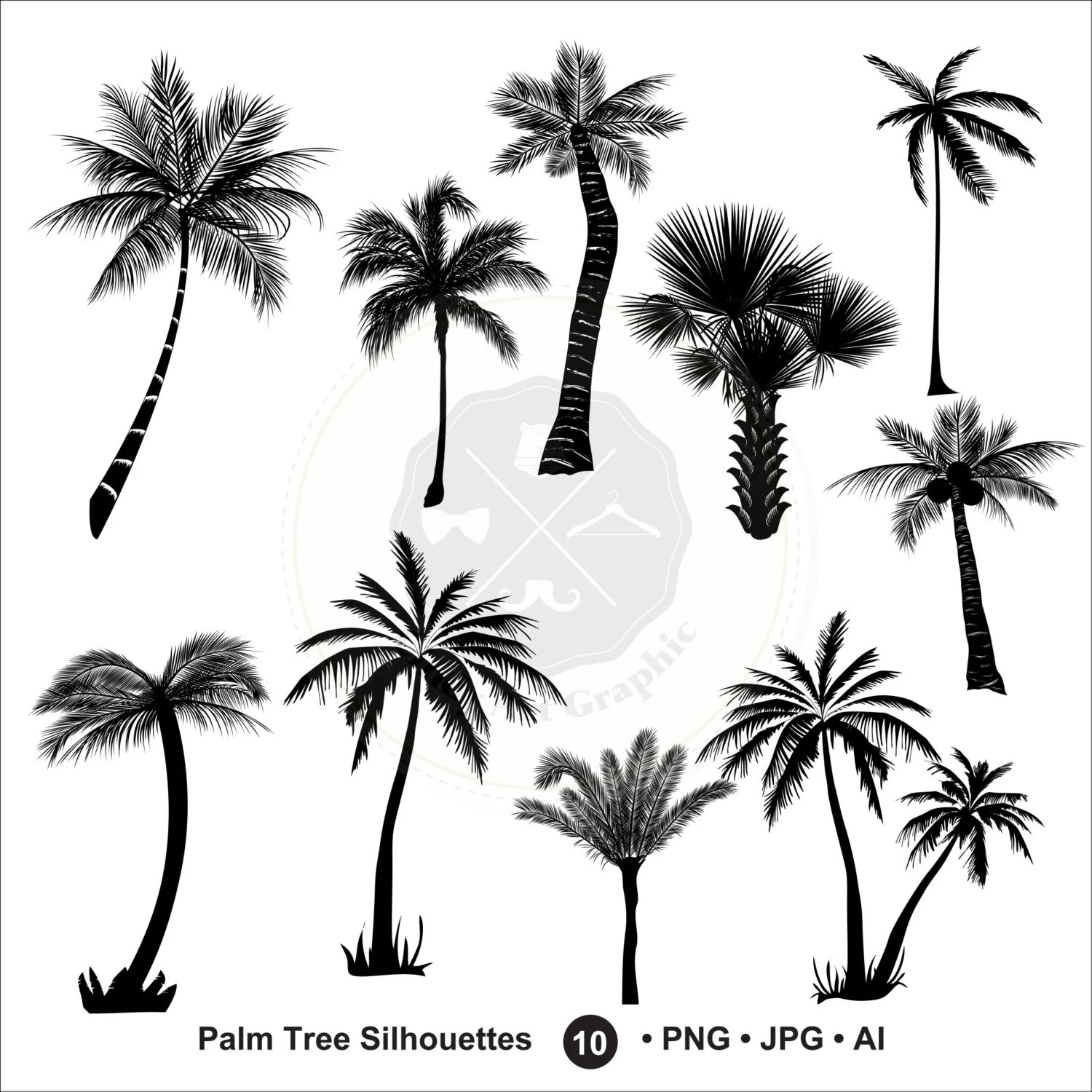 Palm Tree Silhouettes Clipartlm Tree Cliparttree