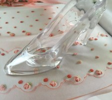 12 Cinderella slipper wedding favors