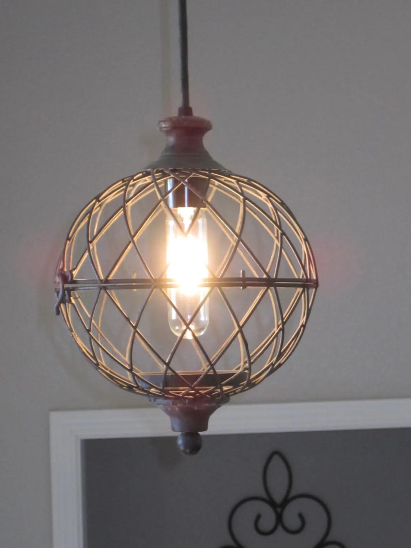 Lighting Rustic Outdoor Pendant