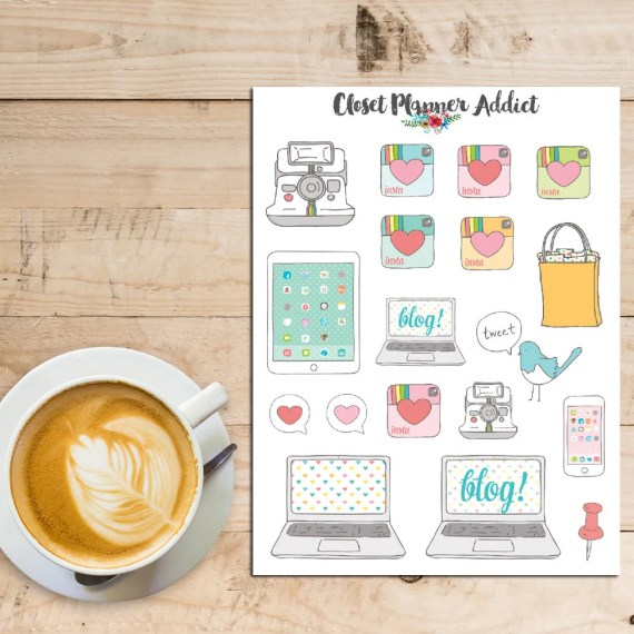 planner stickers bloggers christmas
