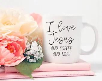 Download Jesus coffee naps   Etsy