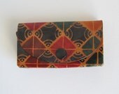 Multicolor leather wallet...