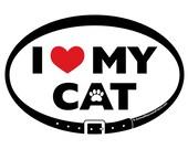 DECAL - I Love (heart) My...