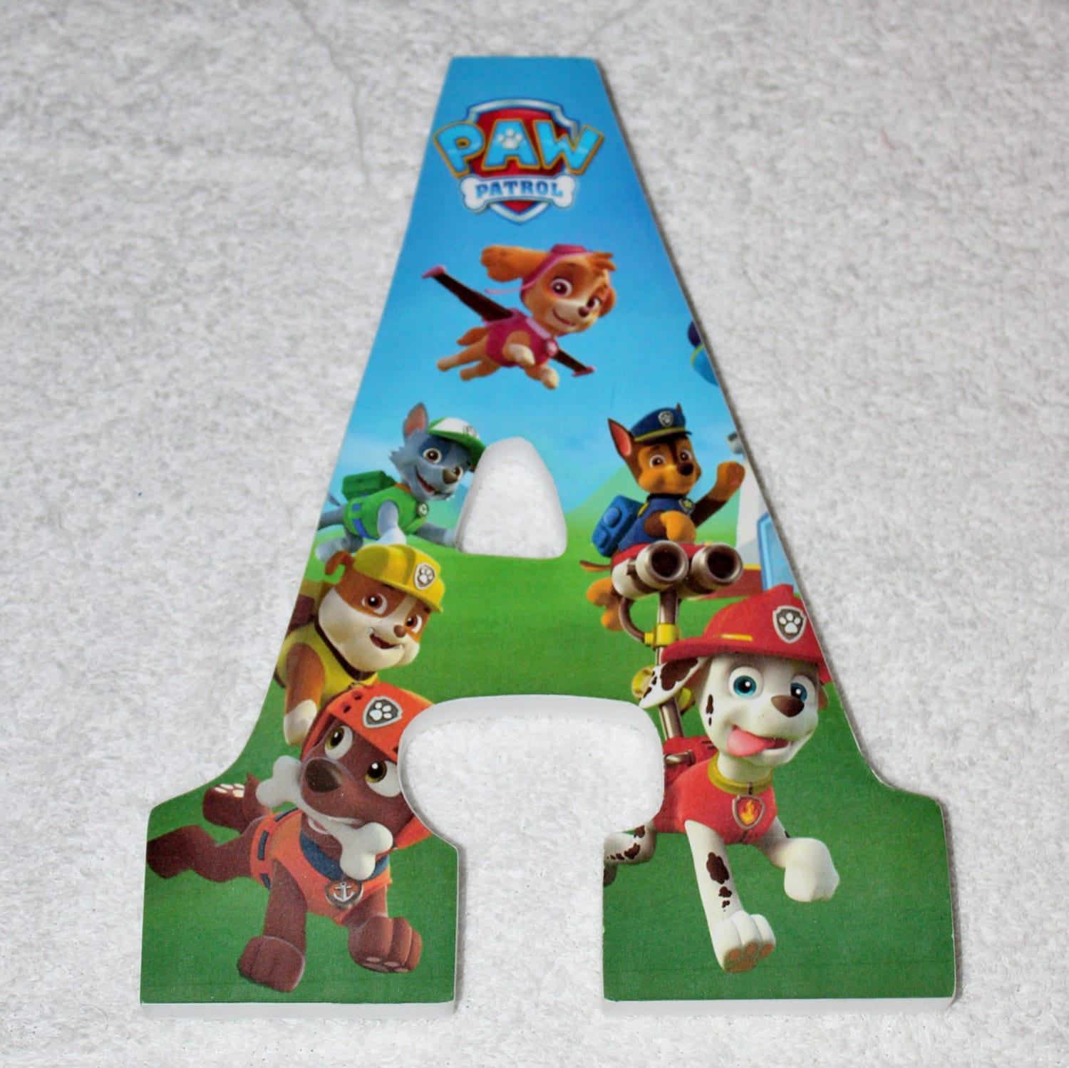 Custom Wooden Letters Or Numbers Hanging Paw Patrol Wood