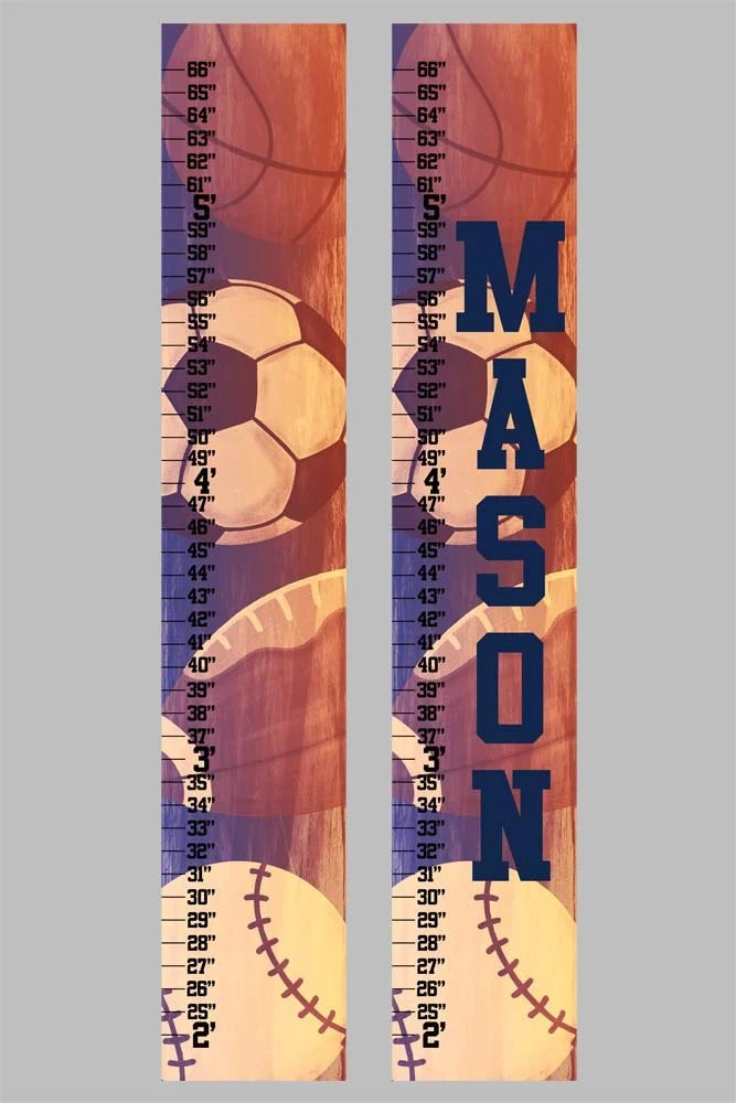 Sports Canvas Growth Chart