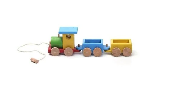 Wooden Train Wooden Toys Christmas Gift For Kids Kids Toy