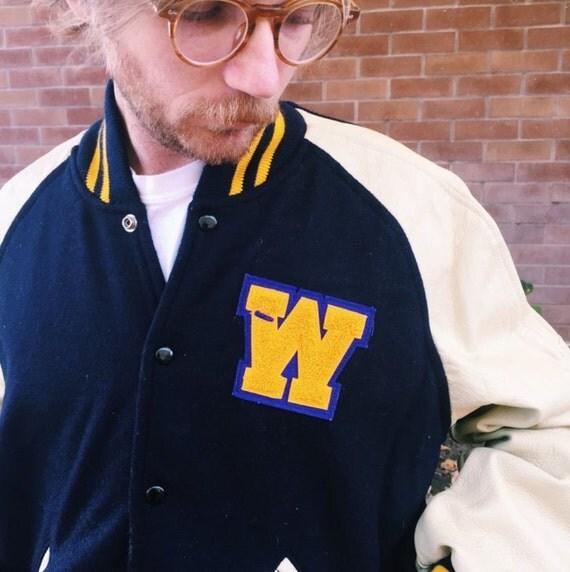 Varsity Jackets Sleeves Gold