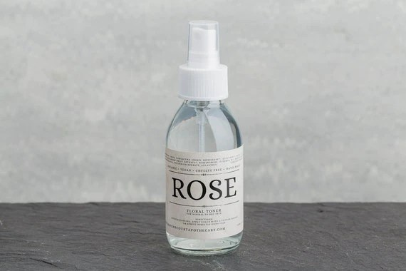 Organic Rose Water Toner | Floral Mist for Normal to Dry, Sensitive Skin