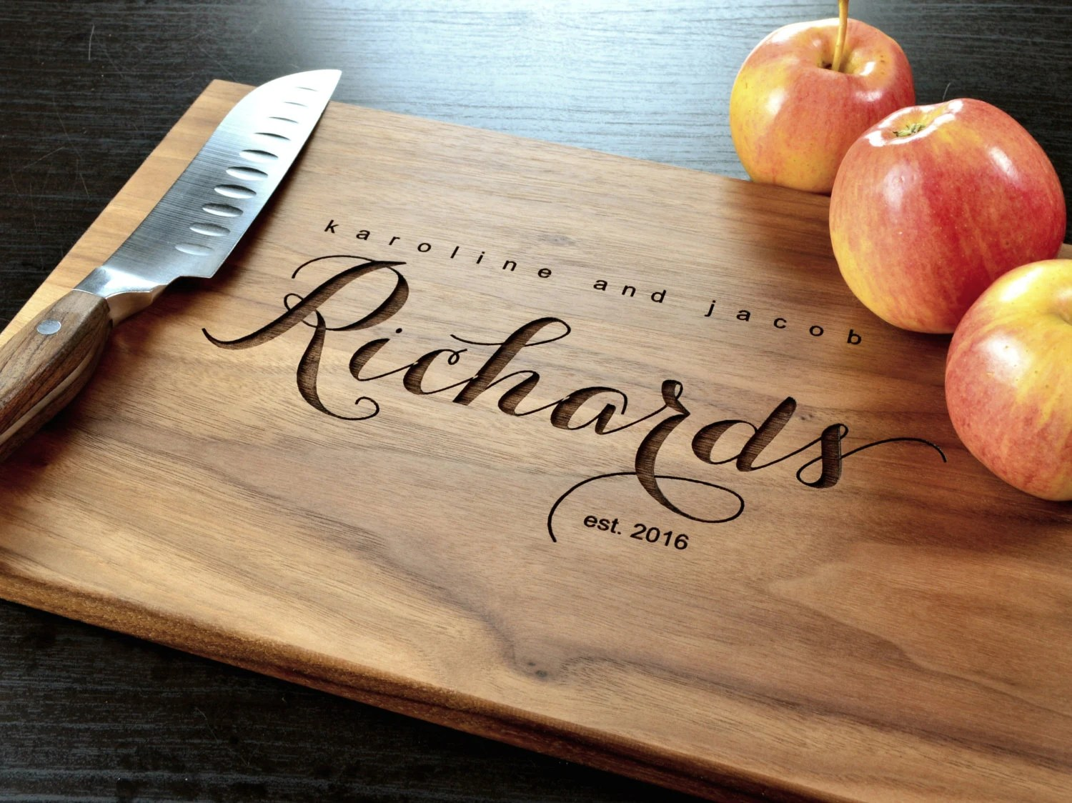 Personalized Cutting Board-Engraved Custom Cutting Board
